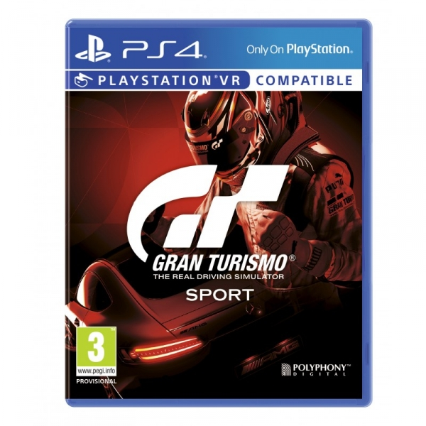 Игра для PlayStation 4 [PS4] Gran Turismo Sport [поддержка VR] (Русский)